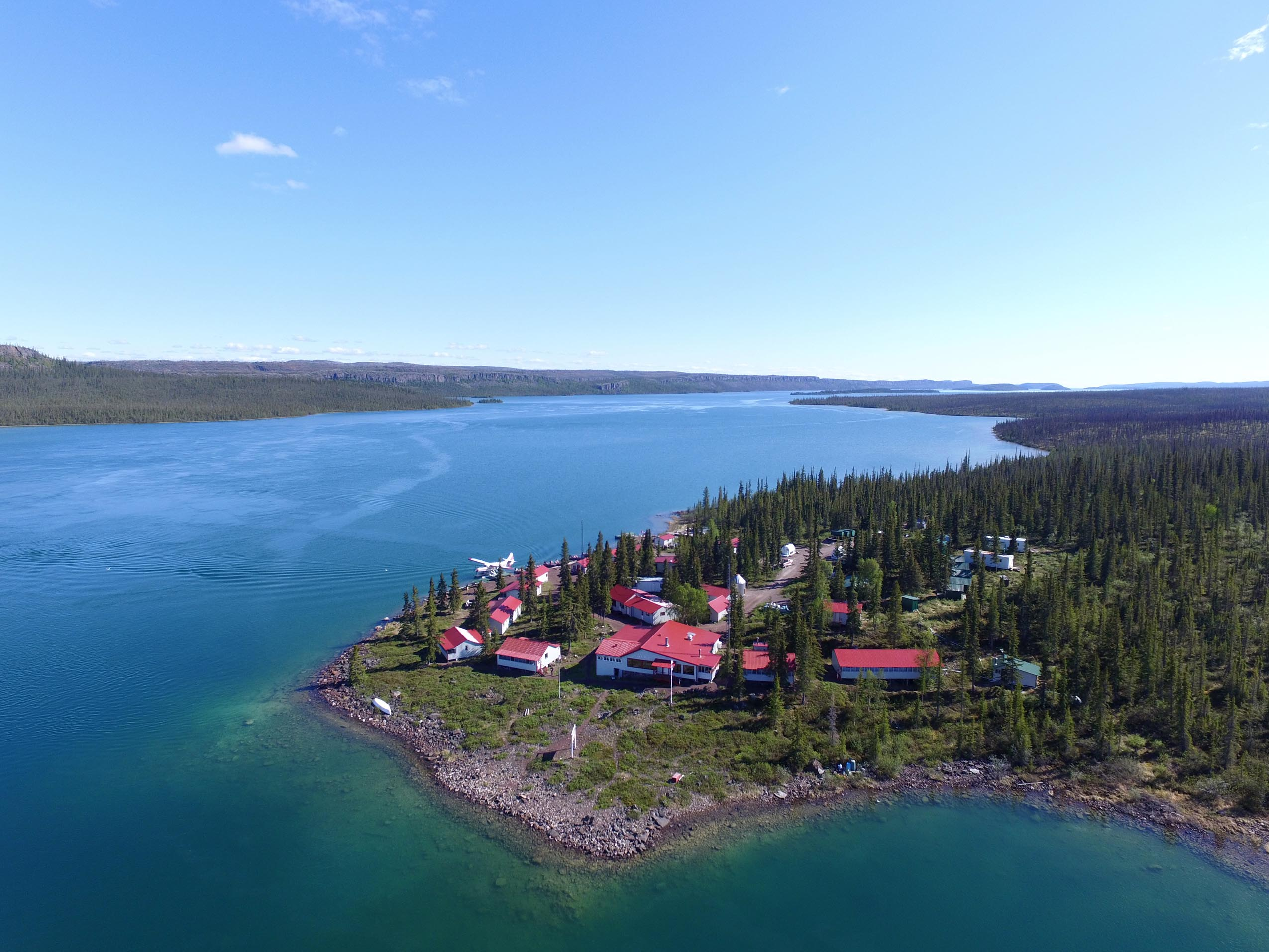 Great Slave Lake Lodge | Plummer's Arctic Lodges | Lake Trout Fishing
