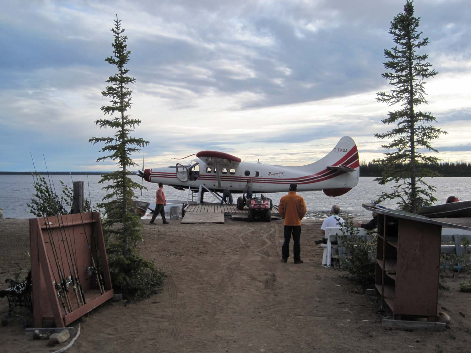 Fly in at Trophy Lodge - Plummer's Arctic Lodges