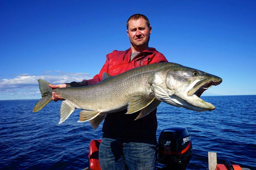 Lake Trout Fishing in NWT