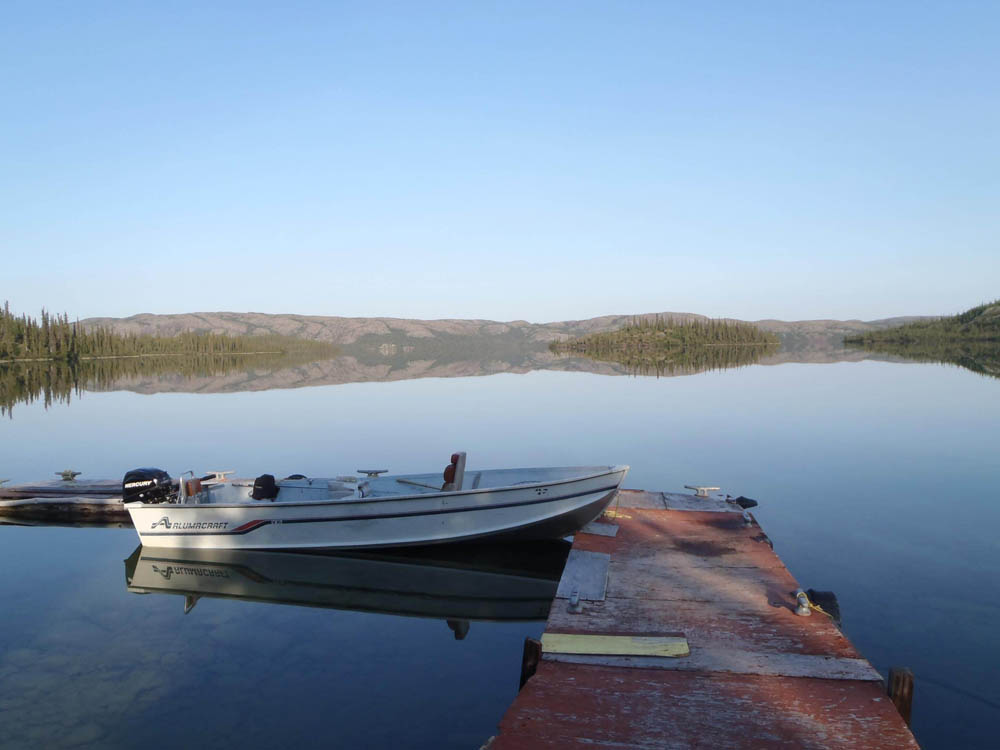 Plummer's Arctic Lodges - Arctic Outpost Lake Fishing