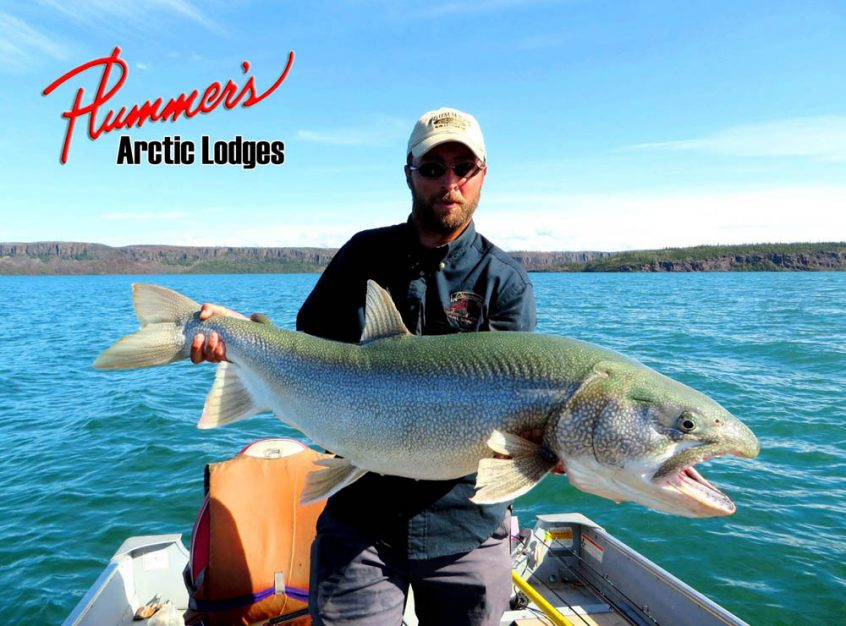 Lake trout fishing at Plummer's Great Slave Lake Lodge
