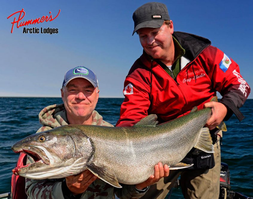 Trophy lake trout fishing trips in Northern Canada