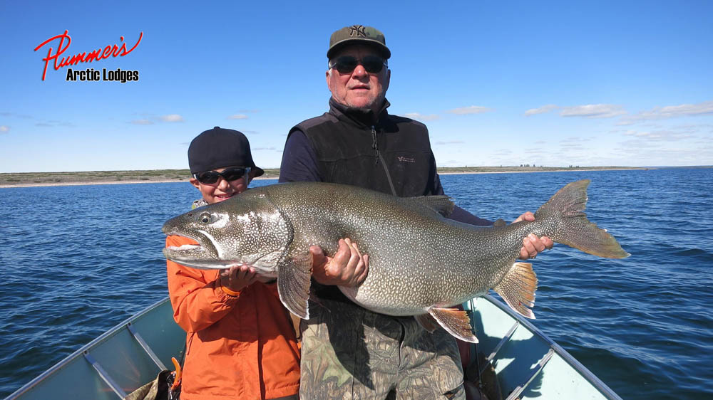 Legendary lake trout fishing at Plummer's