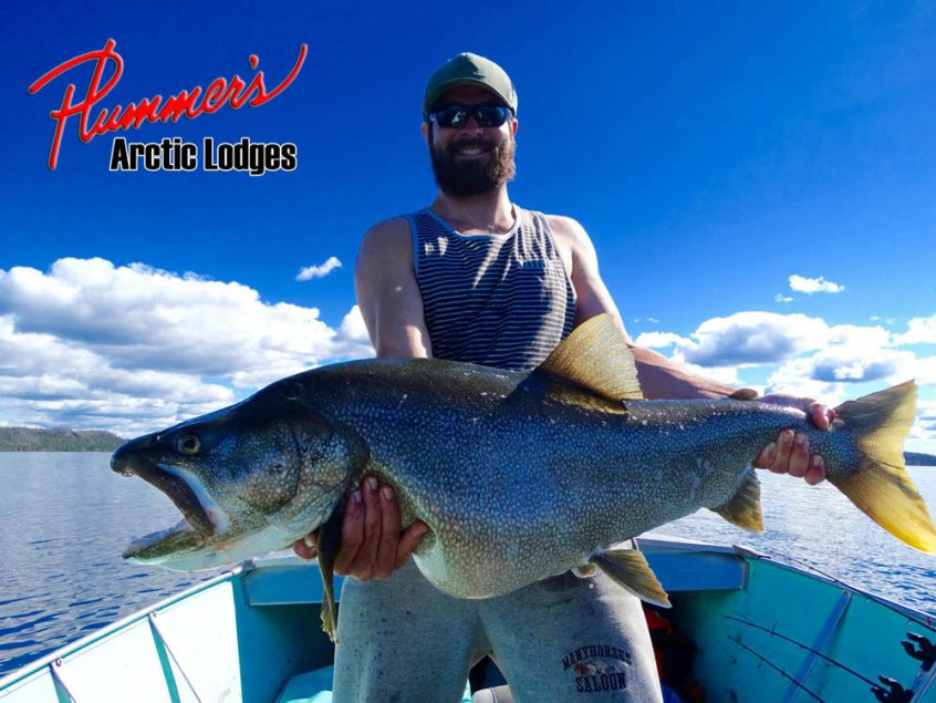 Summer lake trout fishing at Plummer's