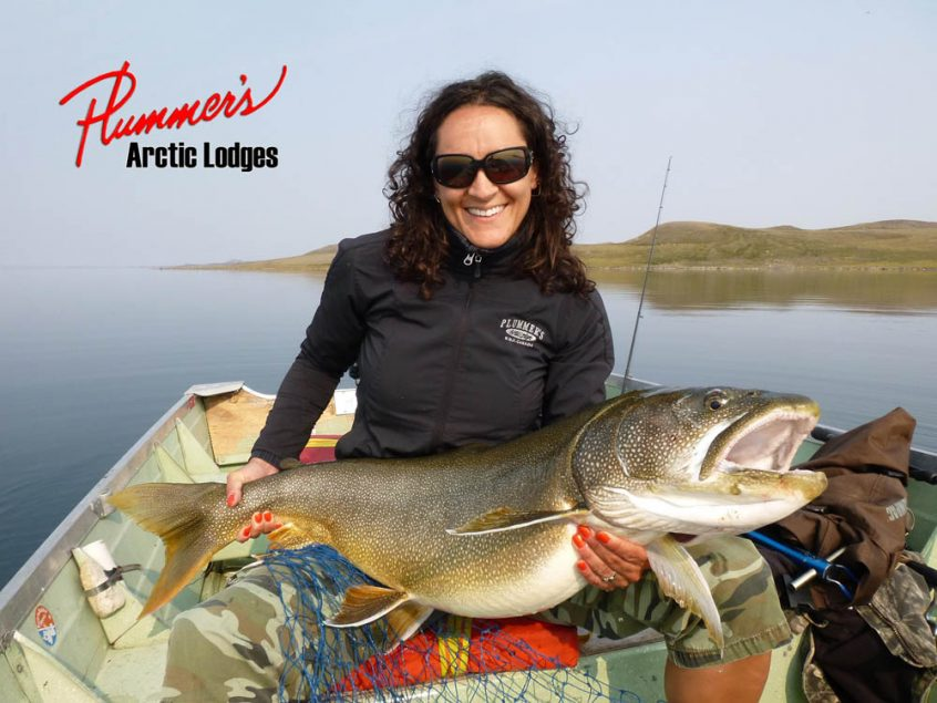 World class lake trout fishing at great slave lake