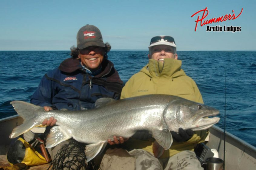 Couples Arctic Lake Trout Fishing Trip