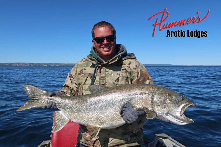 Lake Trout Fishing at Plummer's Great Bear Lake