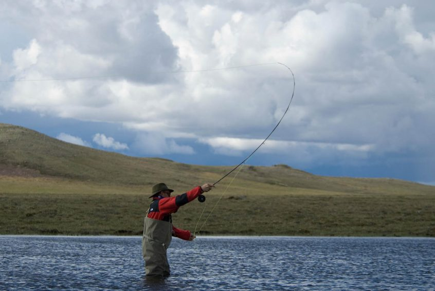 Fly fishing in the Northwest Territories