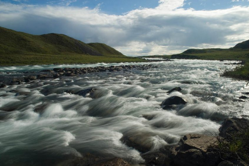 Tree River Rapids in Canada's Arctic