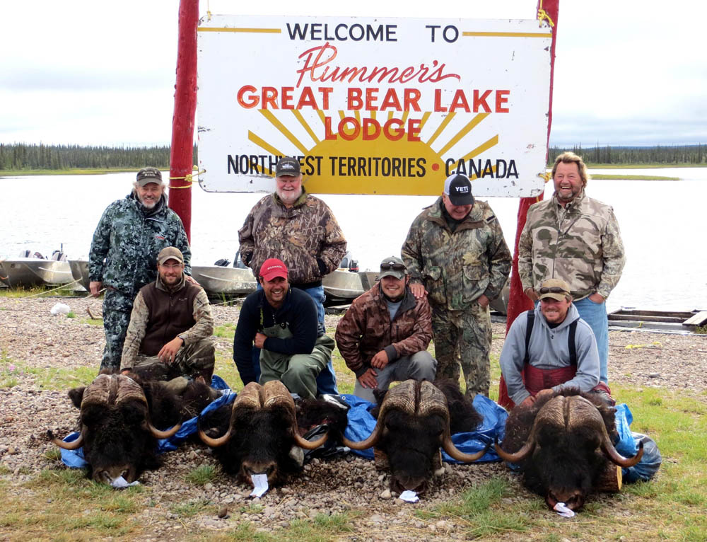 Hunting trips at Great Bear Lake Lodge
