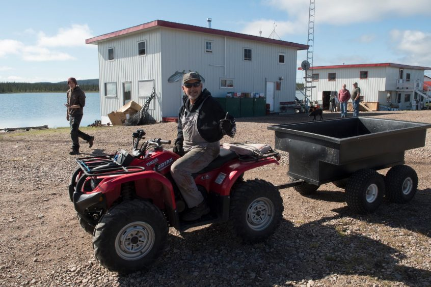 Quadding at Plummer's Great Bear Lake Lodge