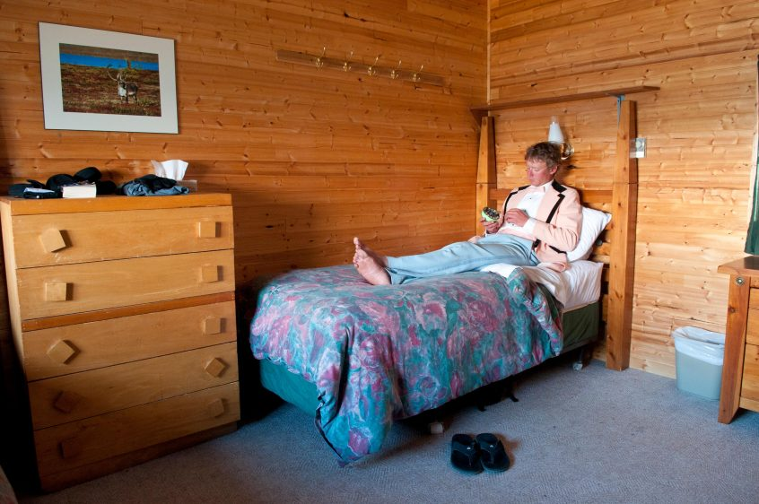 Great Bear Lake Lodge Bedroom