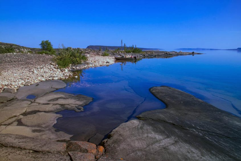 Great Slave Lake Shoreline