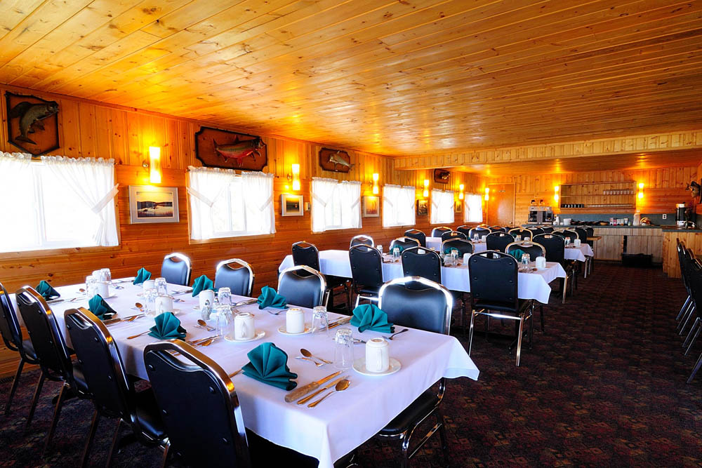 Plummer's Great Slave Lake Dining Room