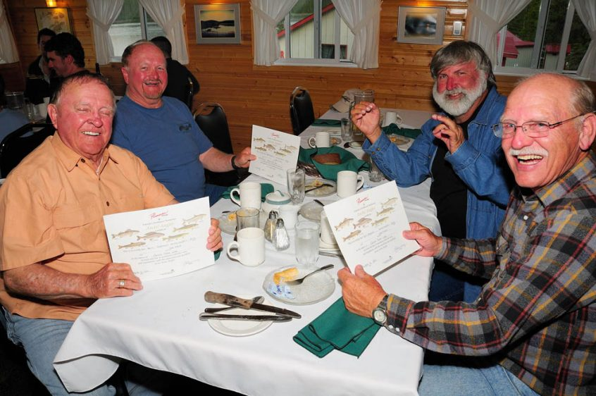 Plummer's Great Slave Lake Lodge Guests Dining
