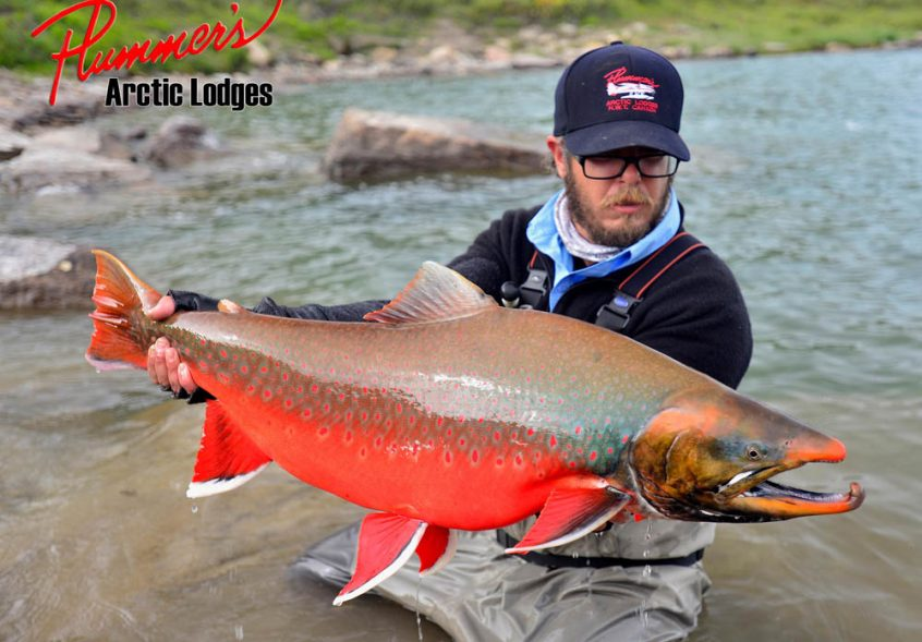 How to fly fish for arctic char