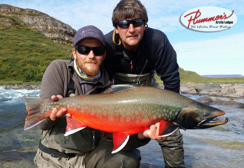World-class arctic char fishing