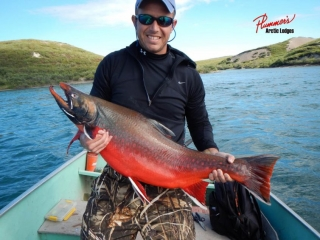 Best arctic char fishing in North America