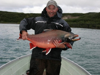 Trophy arctic char fishing in Canada's North